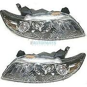 New Lh And Rh Head Lamp Assembly Fits 2003-2008 Infiniti Fx35 In2503113 In2502113