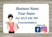 Business Cards, Sewing Handy Craft, Clothing Repairs Thank You Cards