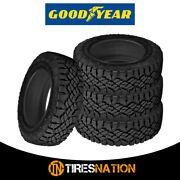 4 New Goodyear Wrangler Duratrac 275/70/18 125q All-terrain Commercial Tires