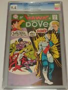Hawk And The Dove 1 Cgc 9.4 Off White Pages Dc Comics September 1968 Sa
