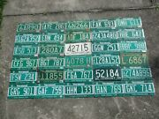 30 Vermont License Plate Lot For Collecting Or Decorating Man Cave
