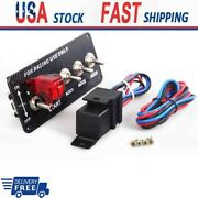 Switch Panel Engine Start Button Led Toggle Carbon Racing Car 12v Ignition Parts