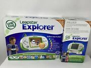 New Sealed Leap Frog Leapster Explorer Learning System Console Bundle Set