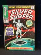 Silver Surfer 1 Marvel 1968 Origin Issue Nice Solid Book But...