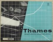 Ford Thames 30 Cwt 2/3/4 Ton Commercial Vehicles Sales Brochure 1960 V6811/360