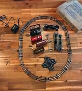 Vintage Marx Stream Line Electric Train Set In Great Condition In Box 3987/ 4923