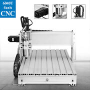 6040z 4 Axis Cnc Router Engraver Engraving Machine Drilling Milling Cutter Tool