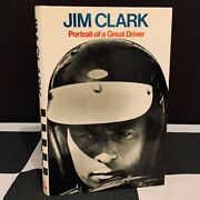 Jim Clark Portrait Of A Great Driver Biography Book Team Lotus 49 43 F1 Indy 500
