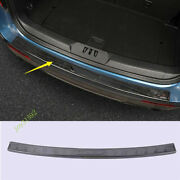 Black Rear Outer Trunk Sill Guard Cover Protector Fitfor 2020-2021 Ford Explorer