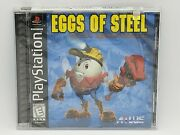 Eggs Of Steel Charlieand039s... Sony Playstation 1998 Y-fold Sealed Atlus Rare