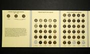 1857-1909 Indian Head W/ Flying Eagle Cent Collection Set 55 Coins Mostly Vg
