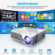 Full Hd Projector Native 1920x1080p Wifi Android 6 7000lumen Td96w Beamer Home