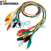 50cm Double-ended Crocodile Clips Cable Alligator Clips Testing Wire A3gs