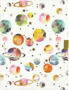 Space Locking Journal Diary Notebook English Hardcover Book Free Shipping