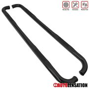 For 2009-2014 Ford F150 Extended Cab 3 Black S/s Running Boards Step Nerf Bars