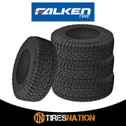 4 New Falken Wildpeak A/t3w Lt295/60r20 126/123r All Terrain Any Weather Tires