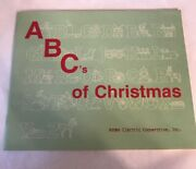Abcs Of Christmas Adams County Pa Electric Vintage Holiday Activity Booklet