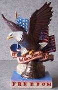 Figurine Patriotic Freedom Eagle By Jim Shore New With Gift Box