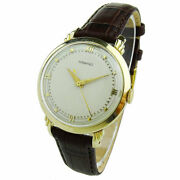 And Co Vintage 14k Gold Hand Wind Mechanical Wristwatch