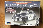 Revell And03948 Ford Police Coupe 2and039n1 Model Kit 1/25 Scale