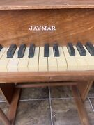 Jaymar Small Piano Made In Usa One Of A Kind