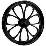 Ryd Wheels 23 X 3.75andrdquo Arc Blackline Front And Rear Wheels - 2000-up Harley Touring
