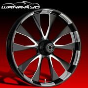Ryd Wheels Diode Starkline 21 Fat Front And Rear Wheels Only 00-07 Bagger