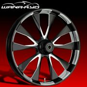 Ryd Wheels Diode Starkline 23 Fat Front And Rear Wheels Only 2008 Bagger
