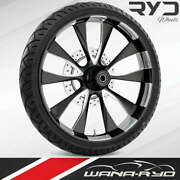 Ryd Wheels Diode Starkline 30 Front Wheel Tire Package Single Disk 00-07 Bagger