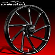 Ryd Wheels Kinetic Starkline 21 Fat Front And Rear Wheel Only 09-19 Bagger