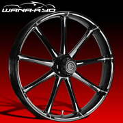 Ryd Wheels Ion Starkline 23 Fat Front And Rear Wheels Only 00-07 Bagger