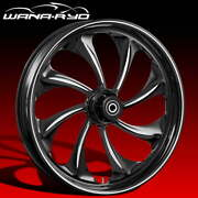 Twisted Starkline 21 X 5.5andrdquo Fat Front Wheel And 180 Tire Package 00-07 Touring