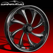 Twisted Starkline 26 Front Wheel Tire Package Dual Rotors 00-07 Bagger