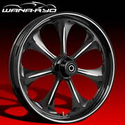 Ryd Wheels Atomic Starkline 23 Fat Front And Rear Wheel Only 09-19 Bagger