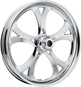 Rpm-03 Chrome 21 Wheels 2pc Rotors Tires Package Set 09-13 Harley Bagger