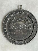 1911 Pittsburgh Olympic Games 925 Sterling Silver Medal Award