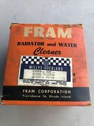 Willys Overland Radiator Water Cleaner Filter Kit New Old Stock Accessory