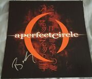 A Perfect Circle Signed Poster Mer De Noms Lp Billy Howerdel