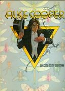 Alice Cooper Welcome To My Nightmare Sheet Music Song Book 1975 Only Women Bleed