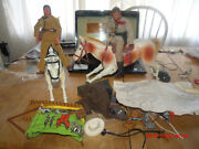 Collection Of Vintage Gabriel Lone Ranger Items.horses/figures /accesseries