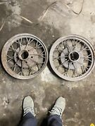 Vintage Wire Wheels, Classic, Chrysler, Ford 1930 Vintage