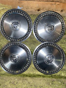 Ford Motor Company 1968-69 15 Inch Hubcaps Set Of 4