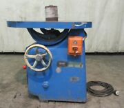 Oliver Machinery Co. Oscillating Spindle Machine 381-d, 1hp, 1740rpm, 440v