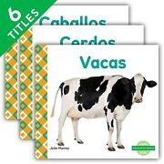 Animales De Granja/ Farm Animals, Library, Like New Used, Free Shipping In Th...