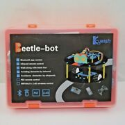 Keywish Robot For Arduino Uno R3 Smart Cars Kit Rc Remote Control Beetle-bot
