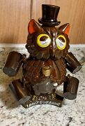 Unique Owl Decanter Figurine With Shot Glasses. Never Used Cork Is Still Great