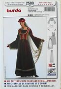 Burda 2509 Misses Lady Of The Castle Chatelaine Costume Sewing Pattern Sz 10-24