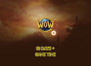 60 Days Game Time World Of Warcraft Wow Us/oceania Servers