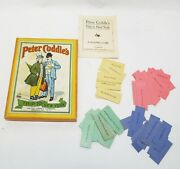 Old Antique Peter Coddle's Trip To New York Reading Card Game United Games Co.