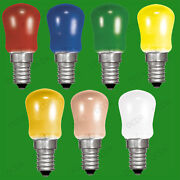 100x 15w Coloured Pygmy Sign Light Bulbs Display Lamp Small Screw Cap Ses E14